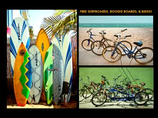 BEACH TIKI BAR w/FREE BIKES & SURFBOARDS, PATIO BBQ, OCEAN VIEW, STEPS TO SAND!, Marina del Rey