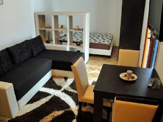 Cute studio apartment for four in Budva