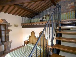 room with loft