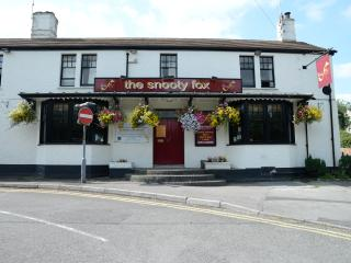The Snooty Fox pub/restaurant and B & B, Warminster