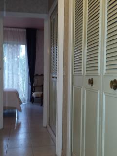 couloir reliant les chambres