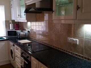 Fully fitted kitchen with dishwasher etc