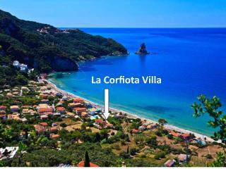 Location of La Corfiota Beach House