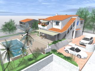 Villa Naranca first on the beach, Rogoznica