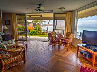 MAUI OCEANFRONT 2-BEDROOM/BATH BEACH HOUSE CONDO, Honokowai