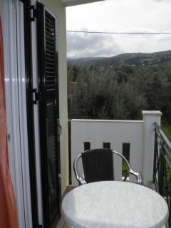 Small balcony (in bedroom)