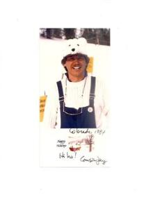 Your host. Henry Jay Tschirner in 1991. Vail, Colorado.