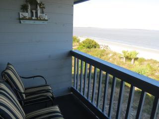 Balcony at condo.