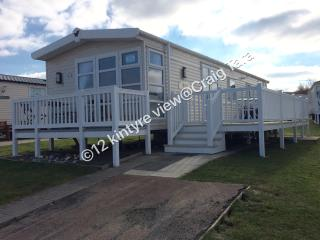 Platinum sea view caravan for hire at Craig Tara, Ayr