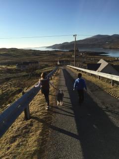 Village walk to the seashore
