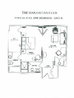 Typical Full One Bedroom - Unit B