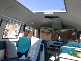 Mojo Camper VW Splitscreen Van Rentals, Ecton