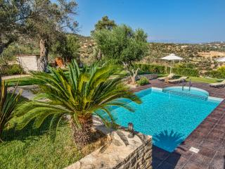 Landscape and Sunset VIews at Dafni Villa