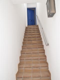 Acceso al apartamento.