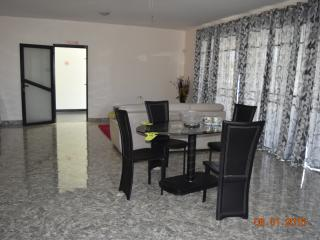 A view of the Dining Area on the Ground Floor Apartment