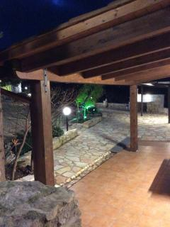 Veranda by night