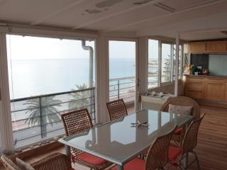 Sublime appartement vue mer 180°, Niza