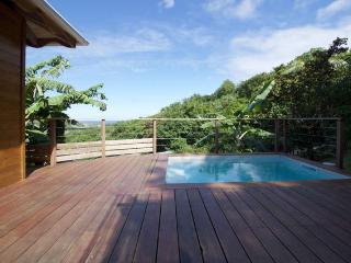Charmante maison bois avec vue mer et piscine, Le Marin