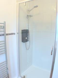 Shower cubicle, ensuite