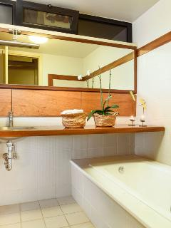 The main bathroom on the ground floor