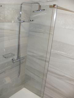 Ensuite bathroom - walk in shower