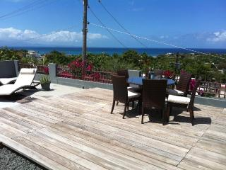 Sun Deck with view of PR East and Rain forest