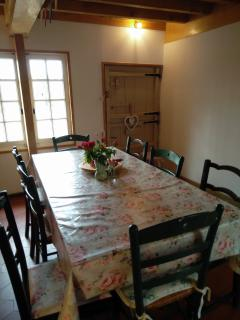 Dining Room with stable door