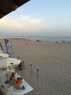 Playa de Fuentebravia a un minuto de la playa