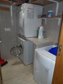 Seperate Laundry area