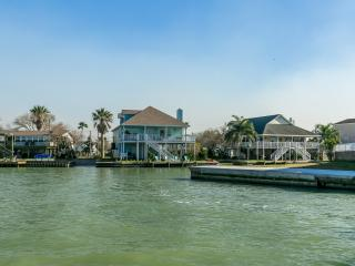 First house as you come in from the bay. Prime fishing area and great water views.