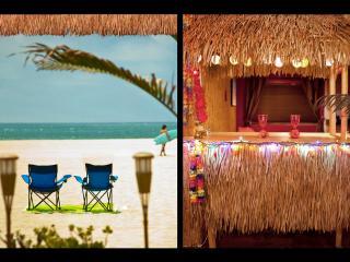 BEACH TIKI BAR w/BIKES & SURFBOARDS, PATIO BBQ, Marina del Rey