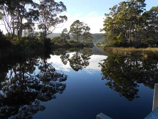 Cooks River  across the road from the cottage