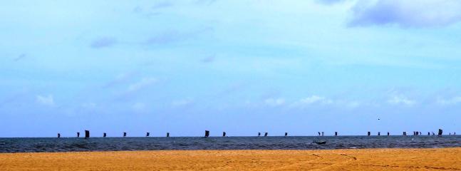 A fleet of fishing boats set sail, Negombo
