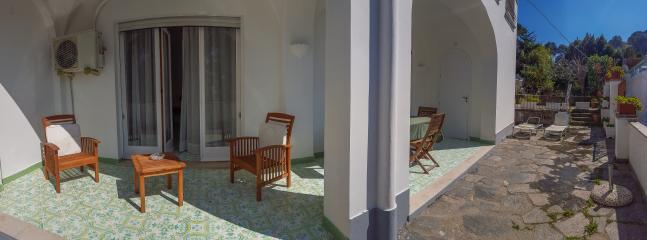 Portico e terrazza