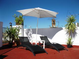 Habitación Doble C en el Centro Sevilla, Terraza