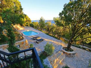 "Villa ""Velebit"",for 10 person, with pool and view, Tribanj"