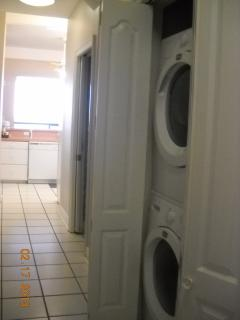 Downstairs has second full size washer/dryer