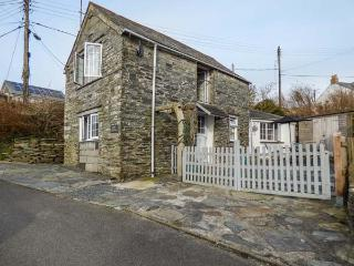 BARN COTTAGE sea views, character cottage, pet-friendly, enclosed garden, Tintag