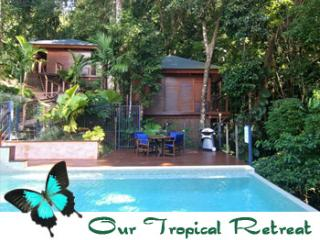 Cairns Reef and Rainforest   ' The Reef Bungalow' and'Rainforest Bungalow'