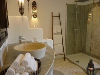 Geschmackvolle Ferienwohnung 140qm, Sauna, HotTub, Grunberg