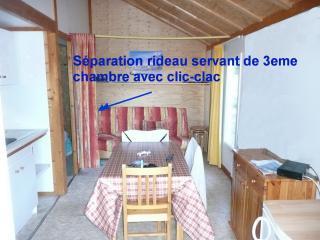 Chalet au pied tire fesse ou piscine vue montagne, Saint-Leger-les-Melezes
