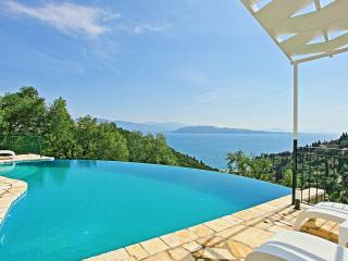 Villa Regina with Stunning Sea Views above Agni, Kalami