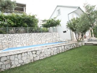 2-storey villa with a pool, with a large terrace, Herceg-Novi