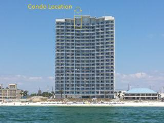 PENTHOUSE Condo By Pier Park with Grill & Free Beach Chair Service!  Sleeps 6