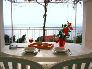 Apt 1 with Seaview 1 bed, 150m to beach, Brela