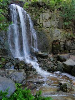 Bear river water fall