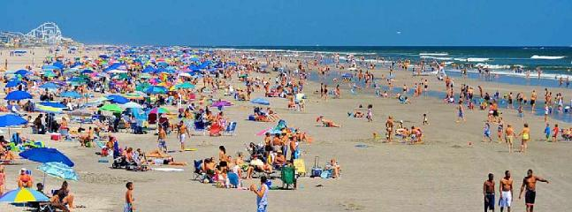 Big, beautiful and breathtaking Wildwood beach