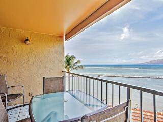 Incredible 2BR Beachfront Kihei Condo w/Wifi, Private Lanai, On-Site Beach Access & Breathtaking Ocean Views - Minutes to Golf, Shopping, Scuba Diving, Sailing, Whale Watching & Much More!