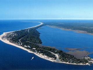 Rejuvenation, a private  feeling beachfront home, Cape San Blas