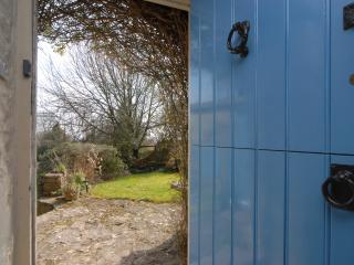 Stable door and view of garden